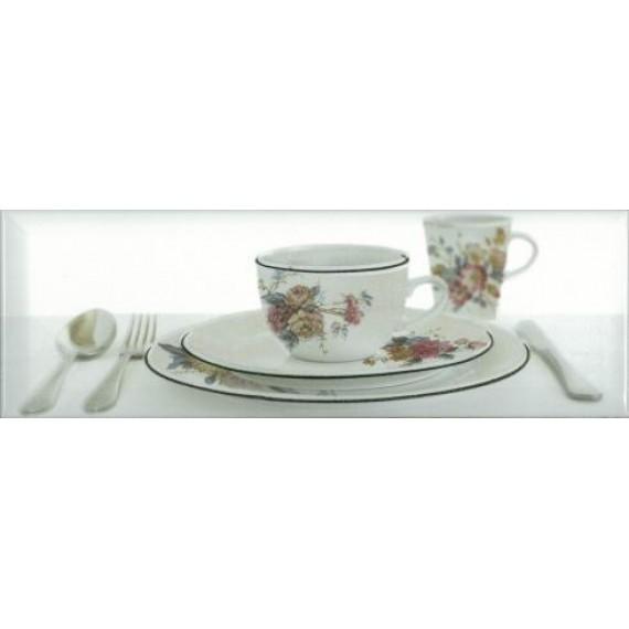 Decor Tea 03 White B 10х30