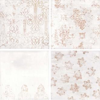 Antique White Gloss 18.5*18.5