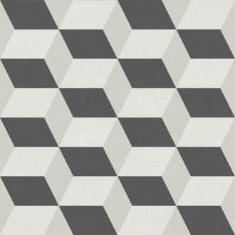 Hanoi Cube Grey 33x33 матовая