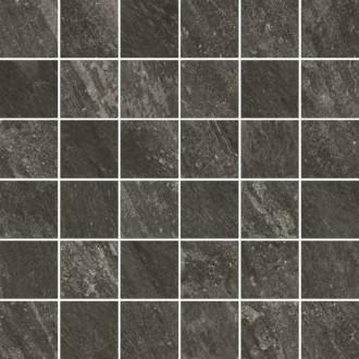 610110000241 Climb Graphite Mosaico Nat 30x30