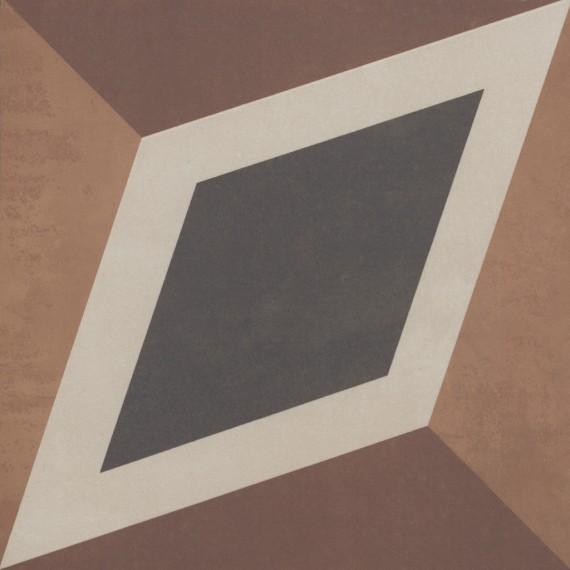 Керамогранит 2634CF4K Декор Century Unlimited многоцветный 20x20