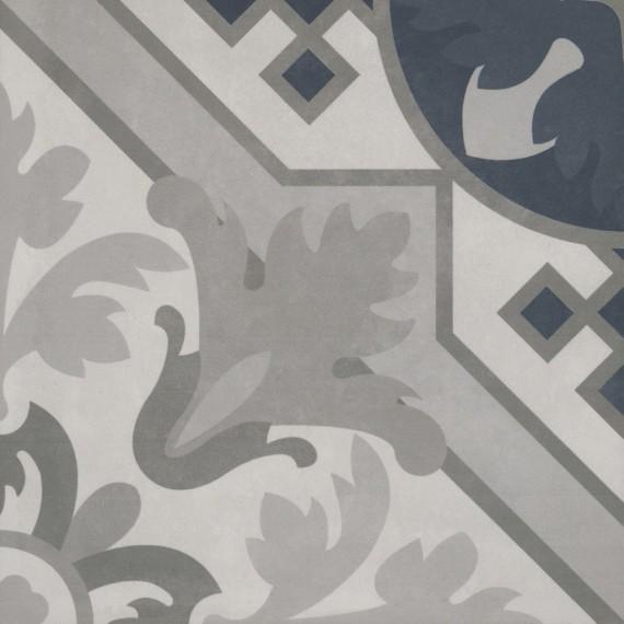 Керамогранит 2634CF6D Декор Century Unlimited многоцветный холодные тона 20x20
