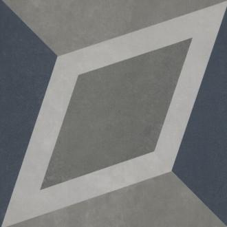 2634CF6K Декор Century Unlimited многоцветный холодные тона 20x20