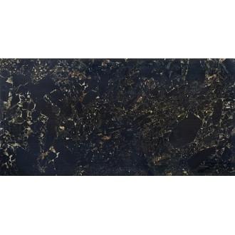 Керамогранит Crushed Marble Black Full Lappato 60x120