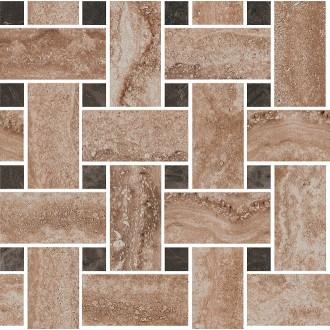 DL195/002 Амбуаз беж мозаичный декор 32х32