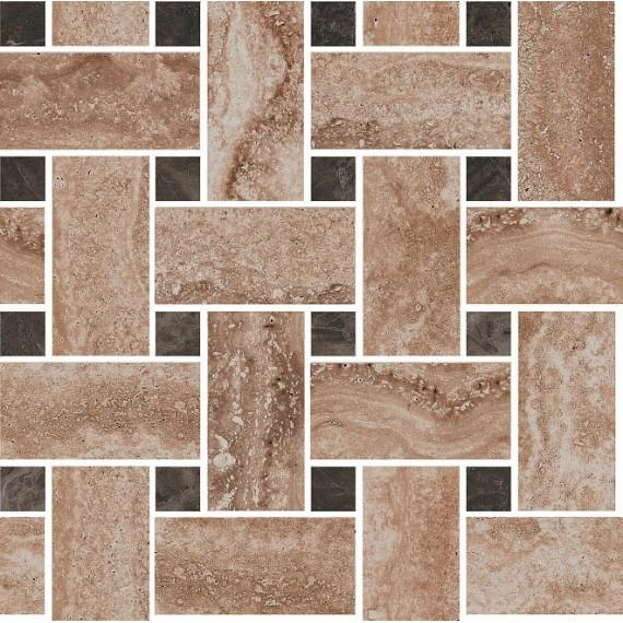 Керамогранит DL195/002 Амбуаз беж мозаичный декор 32*32