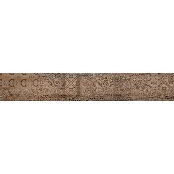 Керамогранит DL550300R Про Вуд бежевый темный декорированный обрезной 30x179