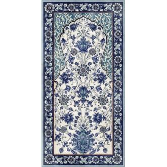 VT/A22/SG5918R Орнамент синий обрезной 119.5x238.5