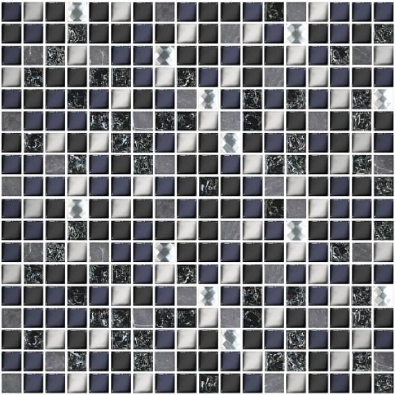 Мозаика Дефиле Неро 30x30