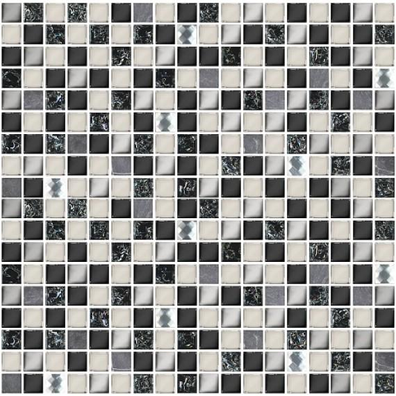 Мозаика Vela Nero 30x30