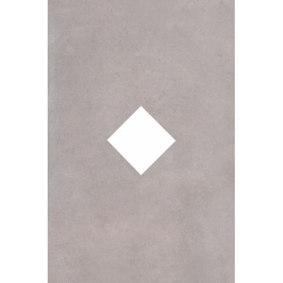 Плитка Декор ID67 Александрия серый 20х30