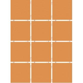 1148 Конфетти коричневый блестящий полотно 30х40 из 12 частей 9.9х9.9