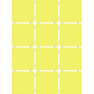 1233 Конфетти желтый блестящий полотно 30х40 из 12 частей 9.9х9.9