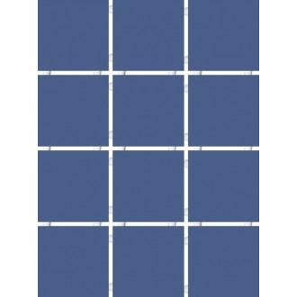 1234 Конфетти синий блестящий полотно 30х40 из 12 частей 9.9х9.9