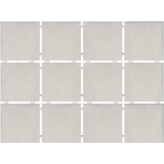 Плитка 1270 Амальфи серый светлый (полотно 30х40 из 12 частей)