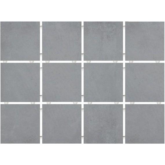 Плитка 1271 Амальфи серый (полотно 30х40 из 12 частей)