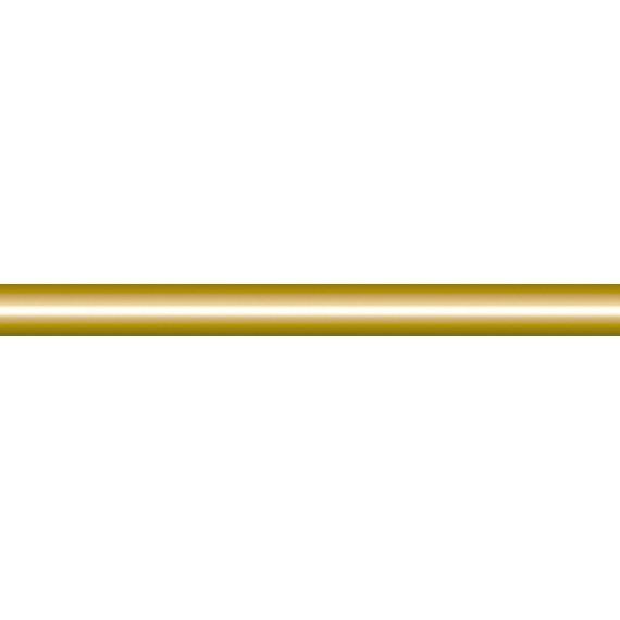 Плитка 210 Карандаш золото 20*1.5
