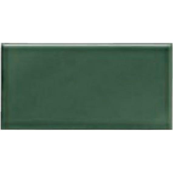 Плитка ADMO1024 Liso PB C/C Verde Oscuro 7,5x15