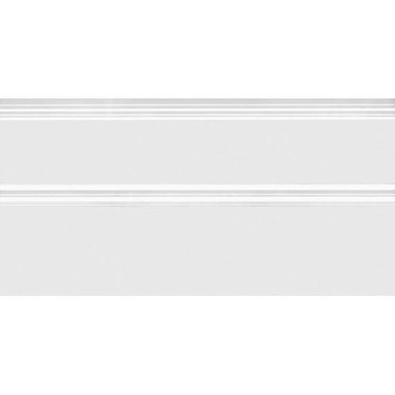Плитка FMA020R Плинтус Марсо белый обрезной 30х15