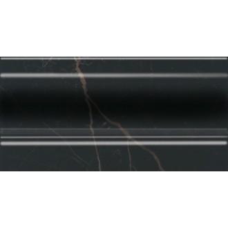Плитка FMD017 Алькала черный плинтус 20x10