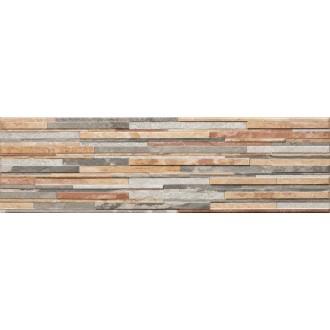 Плитка Kamien Zebrina Pastel структурная 600x175x9