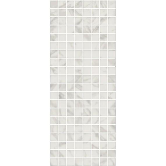 Плитка MM7203 Алькала белый мозаичный 50x20