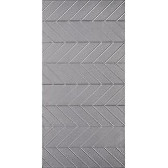 Плитка Motivo Silver Inserto Szklane 29,5х59,5