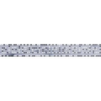 Плитка Natura Helias Бордюр серый 66-03-06-1362 6х40