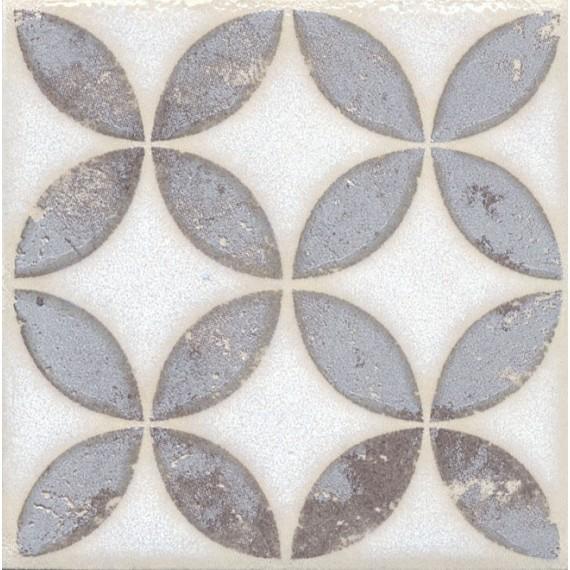 Плитка STG/A401/1266 Амальфи орнамент коричневый 9.9*9.9