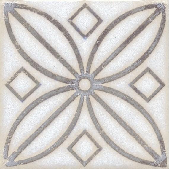 Плитка STG/A402/1266 Амальфи орнамент коричневый 9.9*9.9