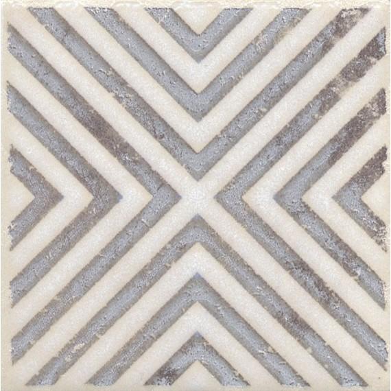 Плитка STG/A403/1266 Амальфи орнамент коричневый 9.9*9.9