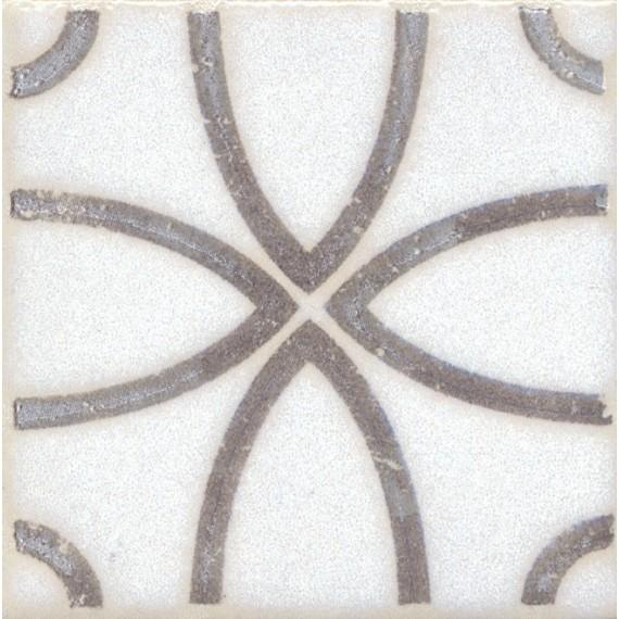 Плитка STG/A405/1266 Амальфи орнамент коричневый 9.9*9.9