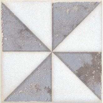 Плитка STG/A407/1266 Амальфи орнамент коричневый 9.9*9.9