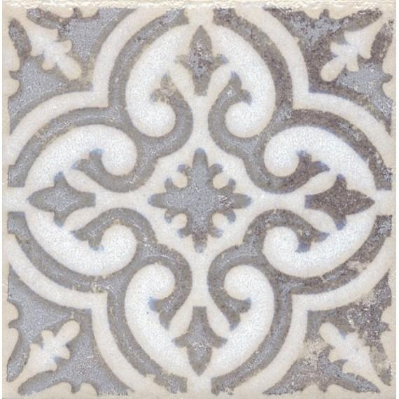 Плитка STG/A408/1266 Амальфи орнамент коричневый 9.9*9.9