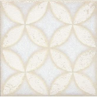 Плитка STG/B401/1266 Амальфи орнамент белый 9.9*9.9