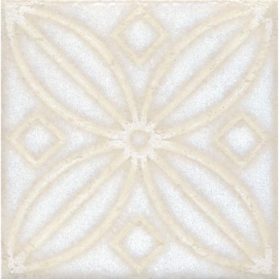 Плитка STG/B402/1266 Амальфи орнамент белый 9.9*9.9