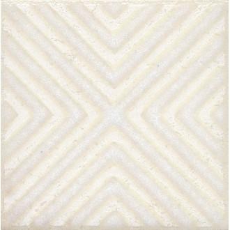 Плитка STG/B403/1266 Амальфи орнамент белый 9.9*9.9