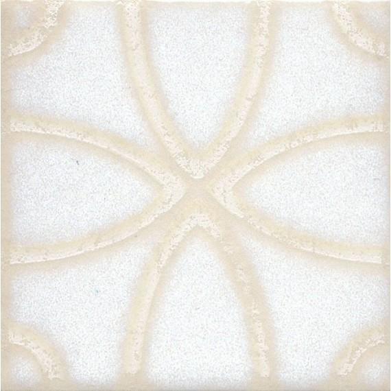 Плитка STG/B405/1266 Амальфи орнамент белый 9.9*9.9