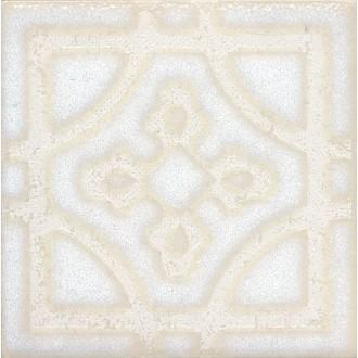 Плитка STG/B406/1266 Амальфи орнамент белый 9.9*9.9