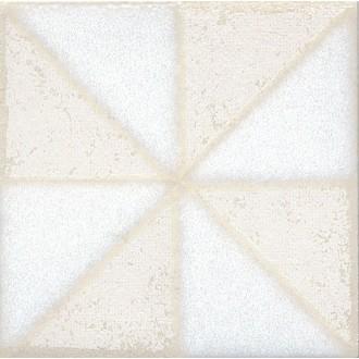Плитка STG/B407/1266 Амальфи орнамент белый 9.9*9.9