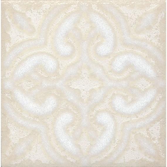 Плитка STG/B408/1266 Амальфи орнамент белый 9.9*9.9