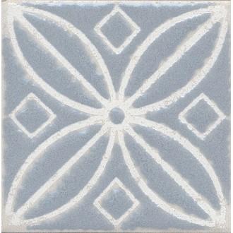 Плитка STG/C402/1270 Амальфи орнамент серый 9.9*9.9