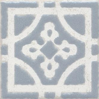 Плитка STG/C406/1270 Амальфи орнамент серый 9.9*9.9