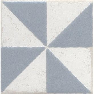 Плитка STG/C407/1270 Амальфи орнамент серый 9.9*9.9
