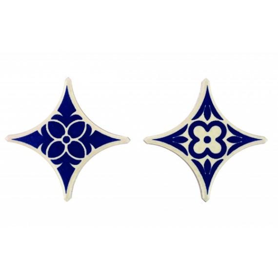 Вставка Taco Estrella Azul 7х7